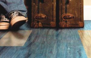 Piso Vinilico Colorwerks Blue Lagoon